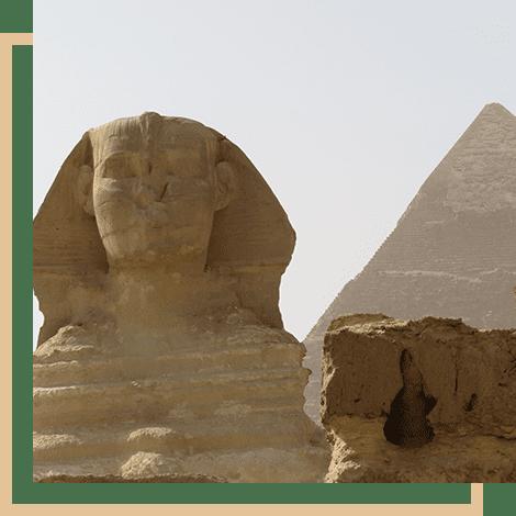 Sphinx, Giza Pyramids, Egypt
