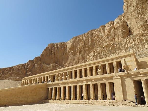 Deir El-Bahari Temple, Hatshepsut Temple, Luxor, Egypt
