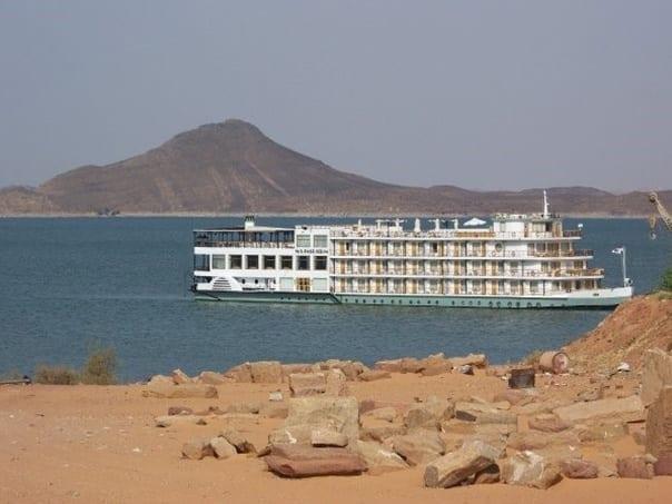 Lake Nasser Nile Cruise, Aswan Dam, Aswan, Egypt