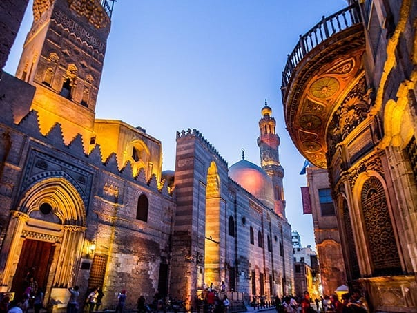 Islamic Cairo, Walking Tour in El Moez Street, Egypt